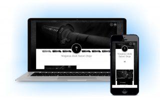 Web sajt prilagodljiv za mobilne dark mode