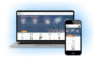 web sajt responsiv za kompjuter i mobilni